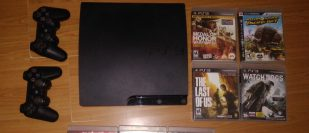 vendo PS3 playstation 3 con 7 juegos